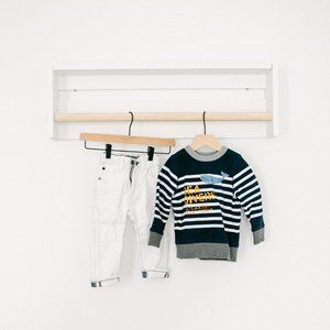 gapKids Sweatshirt and White 1969 Jeans 2T 18-24mo